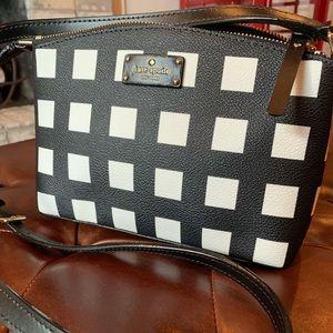 Kate Spade ♠️ Grove Street Checkered Crossbody Bag